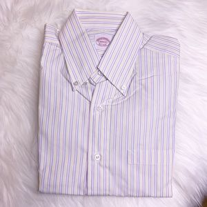Brooks Brothers Button Down Shirt New Size 14.75